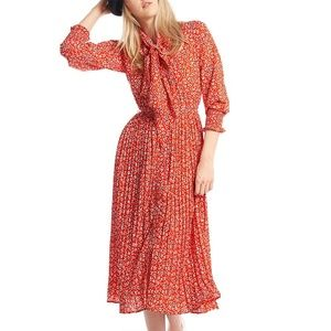 Gracia Long Pattern Dress